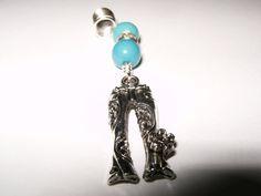 70's Hippie Jean Rhinestone Dread Loc Charm Jewelry by MsLadyLocks. , via Etsy.