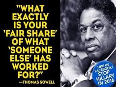 Sowell has it right!!