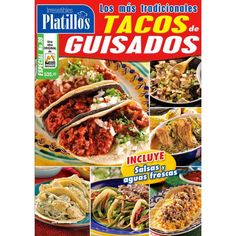 Revista   Irresistibles Platillos Especial 39 - Tacos de Guisado