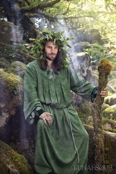 Lunaesque Creative Photography 'The Green Man'- Litha