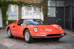 Powered by a 2.4L V6 producing more than 190 hp, the Dino 246 was both bigger and more powerful than its predecessor, and arguably better-looking, too. This particular 1973 Ferrari Dino 246 GTS makes the latter case very well. A...