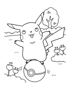 party pokemon coloring pages | Top 75 Free Printable Pokemon Coloring Pages Online ...