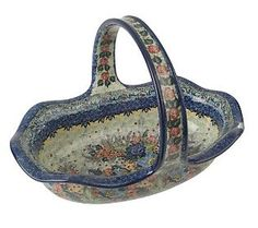 Polish stoneware--Always beautiful! Love this type of stoneware...woud love to have more :)
