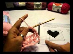 Learn Filet Crochet with text, images and video instruction. Please visit my website for the charts necessary. http://www.crochetkim.com/patterns/filetcroche...