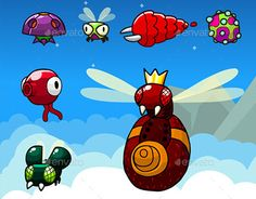 "Check out new work on my @Behance portfolio: ""Flying Enemy Game Sprites #2"" http://be.net/gallery/50830939/Flying-Enemy-Game-Sprites-2"