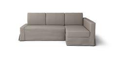 Friheten Corner Sofa-Bed Cover (Right Chaise, Loose Fit) - Beautiful Custom Slipcovers | Comfort Works
