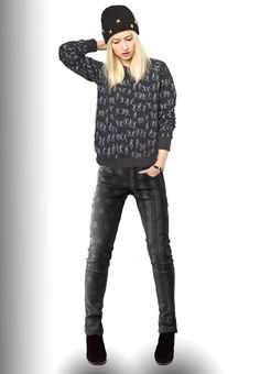 4a65a2655ad KIll City Junkie Patrioteer Jeans in Black