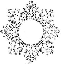 Best 12 crochet patterns in thread – SkillOfKing.Com - Her Crochet Crochet Snowflake Pattern, Crochet Motifs, Christmas Crochet Patterns, Crochet Snowflakes, Crochet Diagram, Thread Crochet, Crochet Doilies, Crochet Flowers, Crochet Christmas Decorations