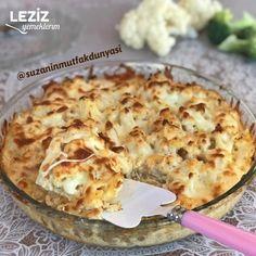 Fırında Karnabahar - Leziz Yemeklerim Cauliflower, Macaroni And Cheese, Salsa, Food And Drink, Vegetables, Ethnic Recipes, Cauliflowers, Mac And Cheese, Salsa Music