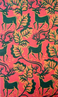 beautiful pattern on the cover of a vintage book. #design #pattern #animalprint