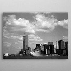 New York 15 by Czeslaw Czaplinski Wall Art Prints, Canvas Prints, Willis Tower, New York Skyline, Canvas Art, Wall Decor, Posters, Fine Art, Metal