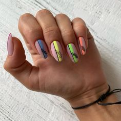 Fabulous Nails, Perfect Nails, Gorgeous Nails, Pretty Nails, Neon Nails, Diy Nails, Color For Nails, Claw Nails, Classic Nails