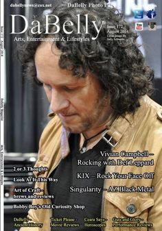 Vivian Campbell - DaBelly Magazine Cover [United States] (August 2014)