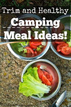 Here's a great resource for easy meals, snacks and desserts for the next time you camp!