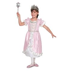 Feeling like a princess? Dress the part! This costume and role play set is durable enough for everyday dress-up fun! (Click to learn more)