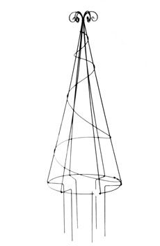 Rayment Wire Work Garden Furniture :: Topiary :: No 66 Cone topiary