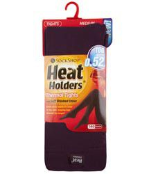 Heat Holders, 0.52 Tog Tights in Purple, £8 fro Sock Shop