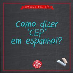 Sabe como se referir CEP em espanhol? Fácil! Utilize a sigla CP, de Código Postal #DicaFisk