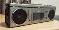Sanyo Mini Stereo Radio Cassette Recorder M7700LE vintage boombox .....................Please save this pin.   .............................. Because for vintage collectibles - Click on the following link!.. http://www.ebay.com/usr/prestige_online