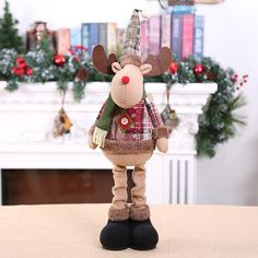 New 2019 Merry Christmas Ornaments Christmas Gift Santa Claus Snowman Tree Toy Doll Hang Decorations For Home Enfeites De Natal Merry Christmas, Christmas Gifts, Christmas Ornaments, Doll Toys, Dolls, Snowman Tree, Santa, Holiday Decor, Comme