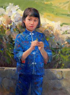 """Announcing a new exhibition of floral-themed portraits and still lifes, """"In Full Bloom:  Master Portraits, Floral Works & Still Lifes"""" at Portraits, Inc. New York."""