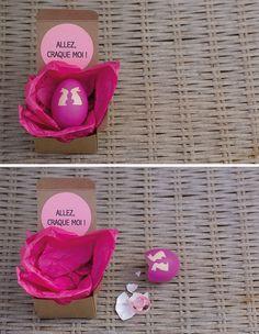 Oeuf surprise à craquer pour annoncer vos événements Girly, Boutique, Just Married, Diy Wedding, Wedding Planner, Diy And Crafts, Baby Shower, Bridesmaid, Scrapbook