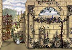 Secret Garden Mural   This mural was created for a Starbucks…   Flickr