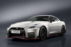 2017 Nissan GT-R Nismo >>> Nissan's engineers have refined the GT-R Nismo's shock absorbers, springs and stabilizers, the all-wheel drive has been upgraded and the 3.8-liter V6 engine has been massaged to produce an additional 30 PS (30 HP) on top of the standard 2017 GT-R, up to a total of 600 PS (592 HP), pushed to the wheels through a 6-speed dual-clutch gearbox.