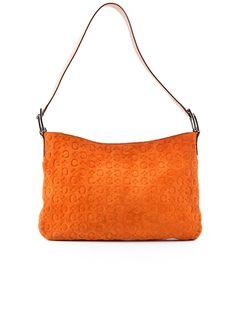 Celine Suede Shoulder Bag