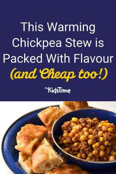 This Warming Chickpea Stew is Packed Full of Flavour (and Cheap!) Turkey Mince, Mince Meat, Chickpea Stew, Batch Cooking, Nutritious Meals, Family Meals, Dinners, Favorite Recipes, Stuffed Peppers