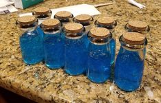 I made 10 mini shield potions for some fortnite friends!
