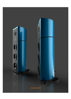 High end audio audiophile Magico speakers
