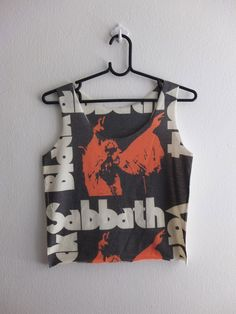 black sabbath tank top