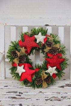 DIY: Corona de Navidad Homemade Christmas, Christmas Wreaths, Christmas Crafts, Christmas Decorations, Christmas Tree, Holiday Decor, Merry Little Christmas, Xmas, Diy Paso A Paso
