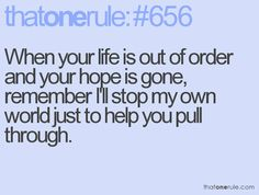This was sooooo ME...i would put aside those that REALLY CARED to help and listen to those that didnt!!