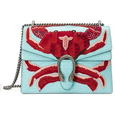Gucci Dionysus Embroidered Shoulder Bag (99.800 BRL) ❤ liked on Polyvore featuring bags, handbags, shoulder bags, purses, light blue, women, suede handbags, man bag, handbags shoulder bags and gucci shoulder bag