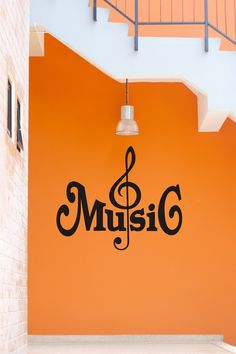 Music Notes Decal, Music Decal, Music Sticker, Music Wall Decal, Music Wall Sticker. $24.99, via Etsy.