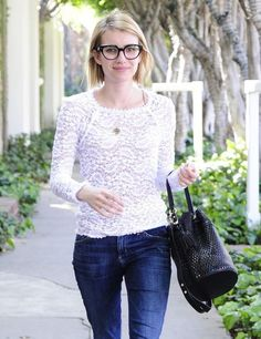 Glasses have become a popular trend, and more and more celebrities are wearing them instead of reaching for contacts. These hot famous girls all wear glasses and look great doing so. Whether necessary for vision, or just as a fun accessory, these gorgeous celebrities are making glasses look h...