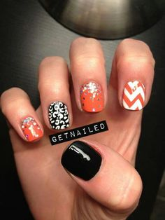 love the black and white and the CHEVRON! ohemgee!