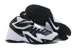 great fit bdd97 75a9d Lebron Zoom Soldier 8 VIII White Triple Black Pure Platinum