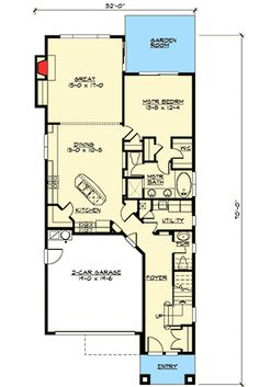 Narrow Lot Craftsman in Two Versions - 23276JD | Craftsman, Northwest, Photo Gallery, 1st Floor Master Suite, Bonus Room, CAD Available, Loft, PDF, Narrow Lot | Architectural Designs