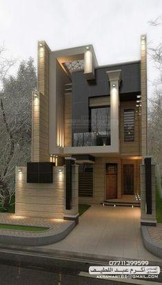 54 Trendy Ideas House Design Exterior Modern Dream Homes House Front Design, Modern House Design, Modern House Exteriors, House Exterior Design, Architecture Design, Contemporary Architecture, Contemporary Landscape, Contemporary Decor, Contemporary Stairs