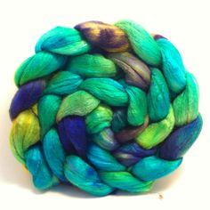 Melite  Merino/silk 50/50  top roving fiber by ShadawynFiberArts, $29.00