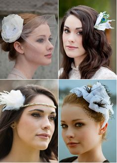 awesome wedding hair pieces