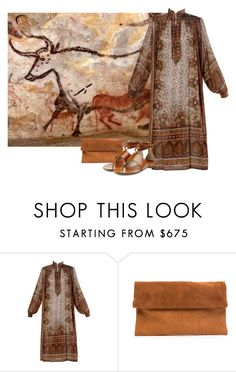 """""""Cave painting"""" by nonanana ❤ liked on Polyvore featuring Michael Kors"""