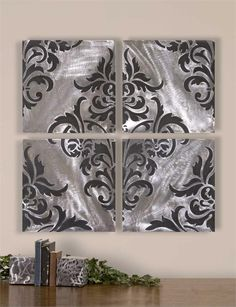 Uttermost Chiavari, Set of 4 Wall Decorations by sonja