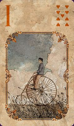 British artist Neil Lovell makes the most charming Lenormand decks. I love his fresh take on the images but with his trademark introspective & vintage feel. Looking forward to his new Chelsea deck, coming soon.  Lothrop Lenormand :: 1