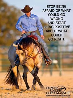 Clinton Anderson is a clinician, horse trainer and competitor. He's dedicated his life to helping others realize their horsemanship dreams and keeping them inspired to achieve their goals. The Downunder Horsemanship method of horse training is based on mutual respect and understanding and gives horse owners the knowledge needed to become skilled horsemen and train their horses to be consistent and willing partners. #Horsemanship by marcy