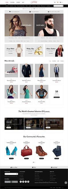 Fshop is a wonderful 5in1 responsive #Magento theme for #webdesign stunning #eCommerce websites download now➩   https://themeforest.net/item/fshop-responsive-magento-2-fashion-store-theme/19277631?ref=Datasata
