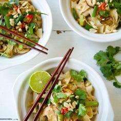 Vegetarian Pad Thai by Nadia Lim | NadiaLim.com